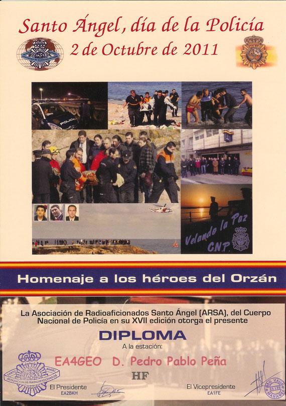 Diploma Santo Angel XVII