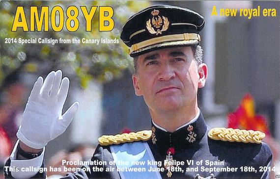 Proclamación de D.Felipe VI de Borbón como Rey de España (2014)