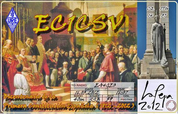 Bicentenario de la 1ª Contitución Española (16-03-2012)