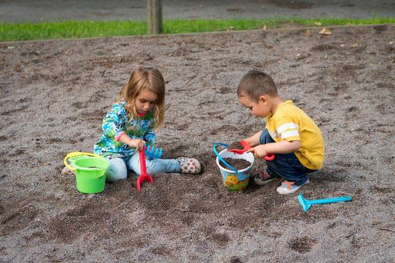 Tagesmutter Klettgau  Kinderbetreuung Spielplatz