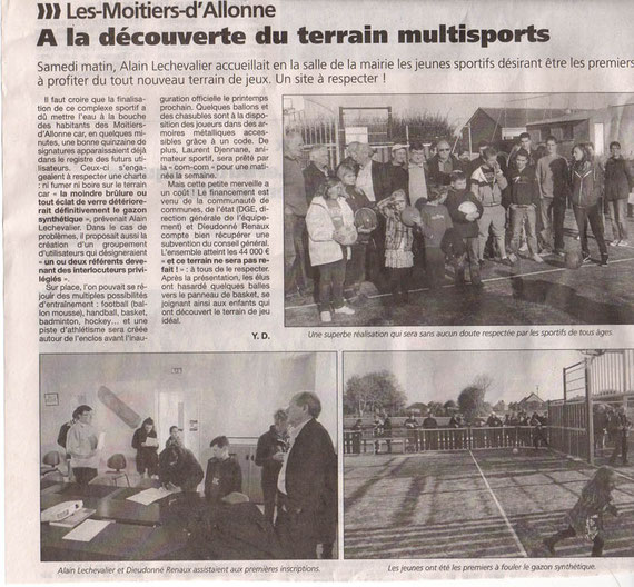 la Presse de la Manche le 22 novembre 2011