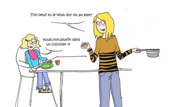 """""""on ne secoue pas un cocotier sans casser des oeufs"""" citation de maman chouchoute!"""