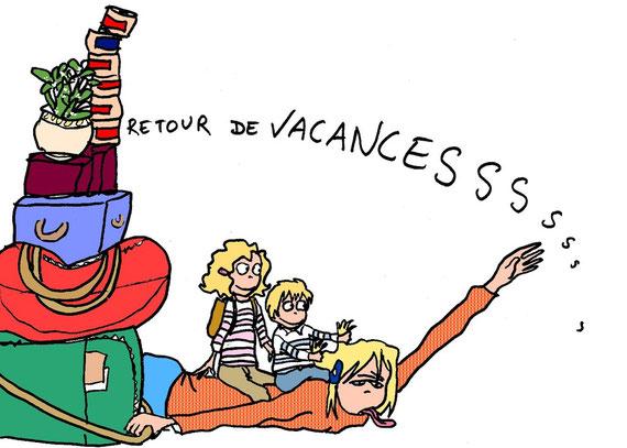 """"""" On n'a jamais autant besoin de vacances que lorsqu'on en revient"""". Ann Landers"""