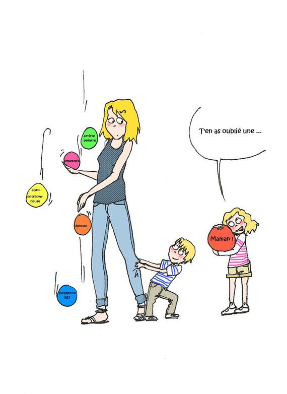« Tendresse maternelle Toujours se renouvelle.  »  Proverbe français
