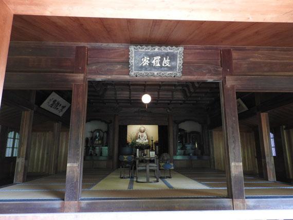 東慶寺 本堂(泰平殿) 釈迦如来坐像