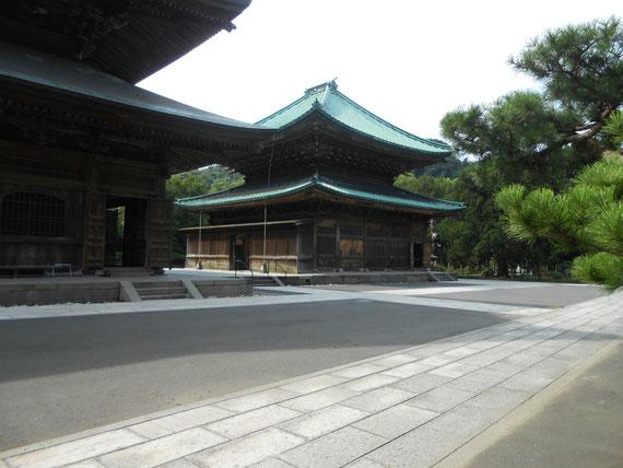 建長寺 境内、法堂・仏殿