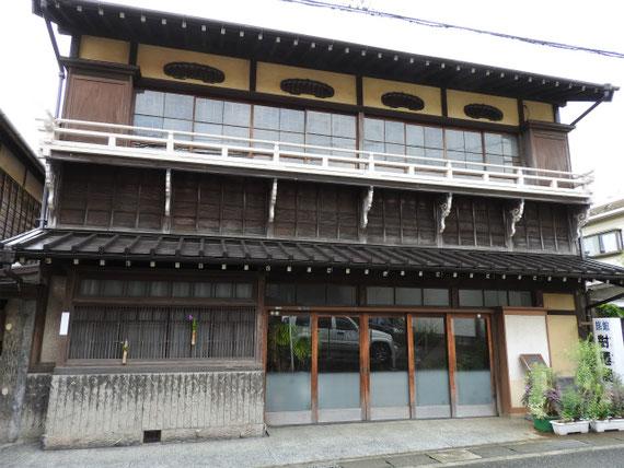 明治末期の旅館、「對僊閣」  鎌倉市景観重要建築物