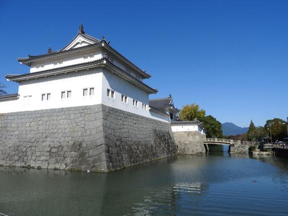 内掘りから観る東御門巽櫓