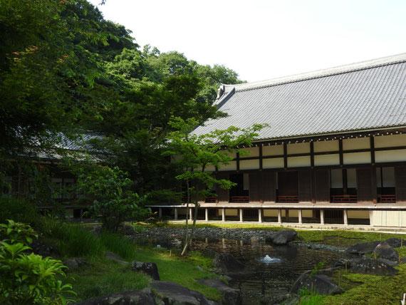 円覚寺方丈と書院 6月