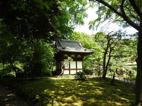 旧天瑞寺寿塔覇堂(てんずいじじゅとうはどう)桃山時代大正19年(1591年)建築