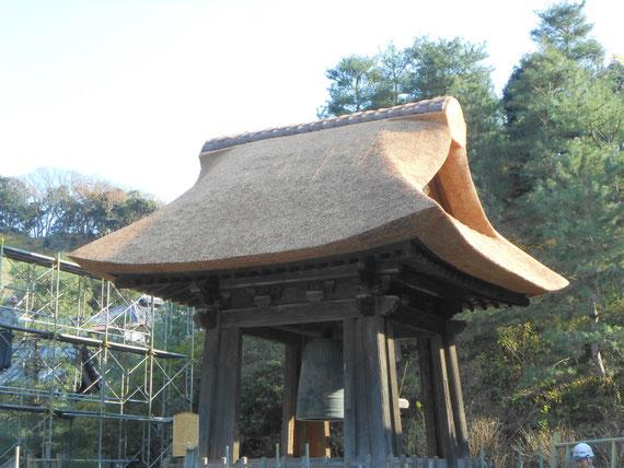 梵鐘屋根修復