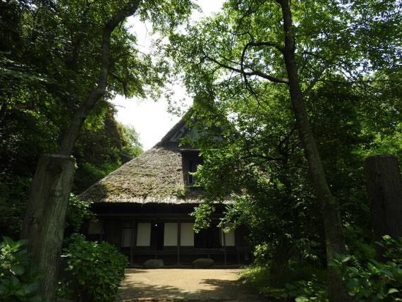 旧矢箆原家合掌住宅 江戸時代後期 飛騨白河郷の建物