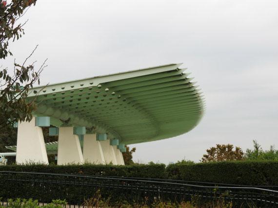 港のみえる丘公園展望台のデザイン