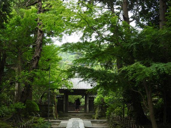 壽福寺 中門