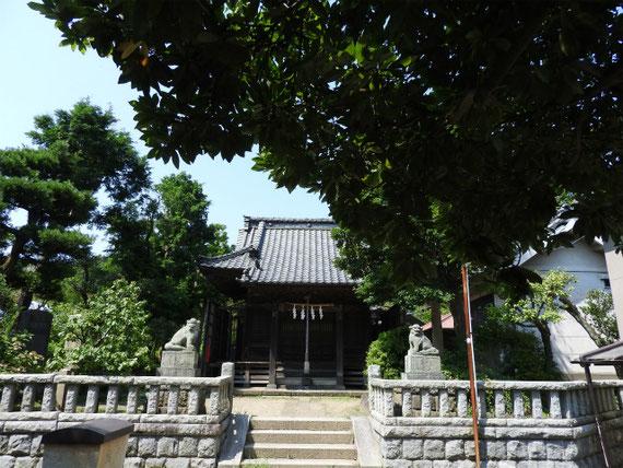 八坂大神の社