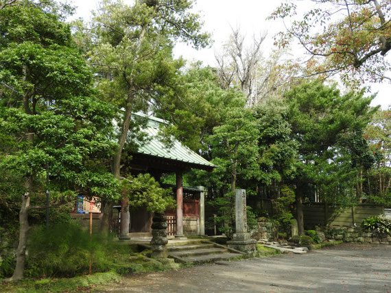 壽福金剛禅寺山門