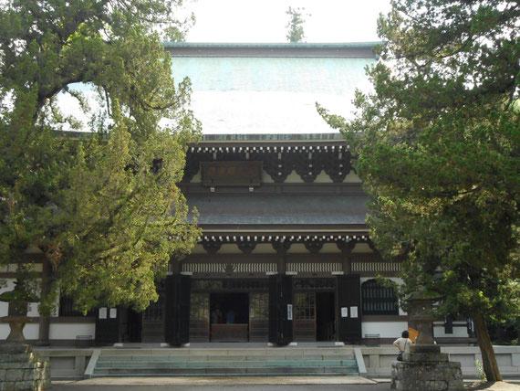 唐様禅宗洋式の仏殿