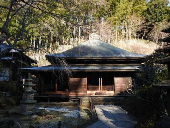 東慶寺本堂(泰平殿) 2月