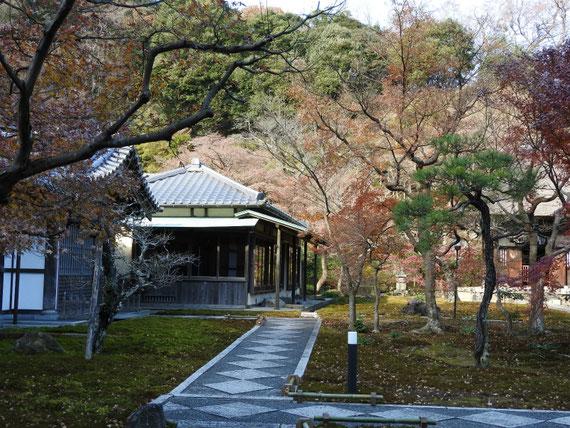 長寿禅寺書院 12月
