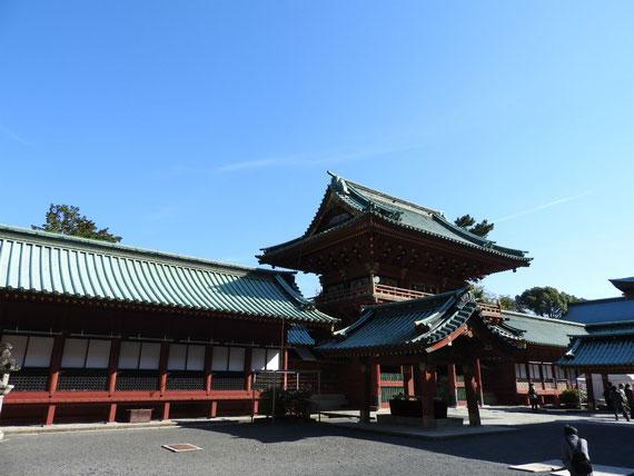 浅間神社回廊