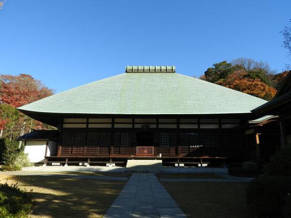 浄妙寺方丈本堂 12月