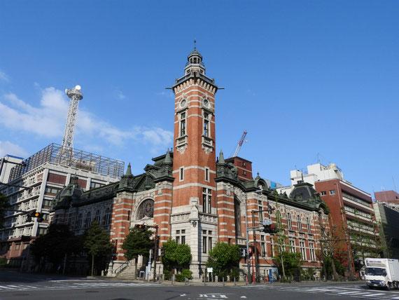 横浜開港記念会館ジャックの塔 4月