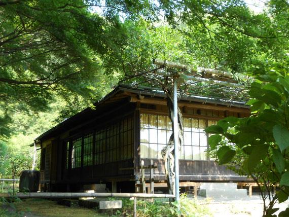 竹林横の、英勝寺書院