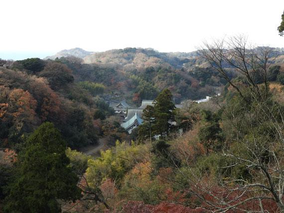 半僧坊展望台から観る建長寺