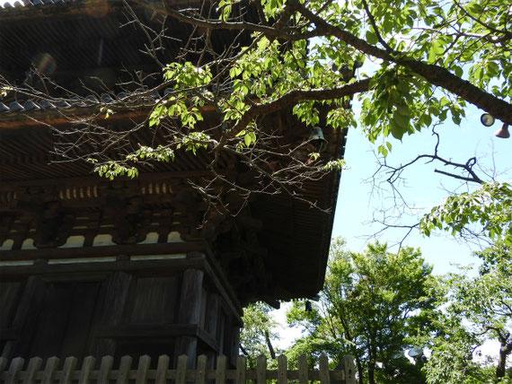 三重塔屋根