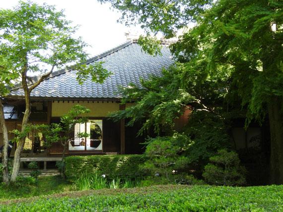 本堂裏庭園