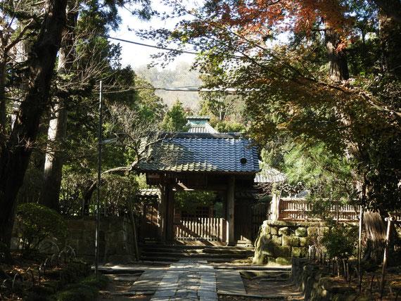 壽福金剛禅寺の中門