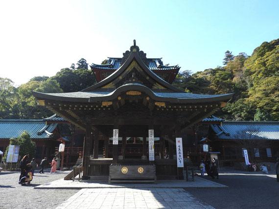 浅間神社舞殿