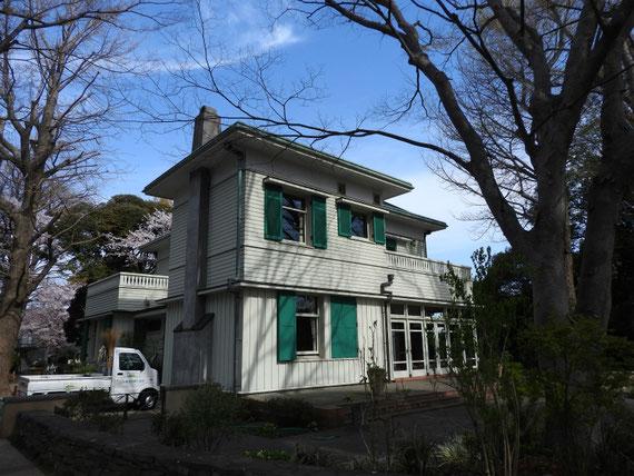 エリスマン邸、右斜めからのデザイン