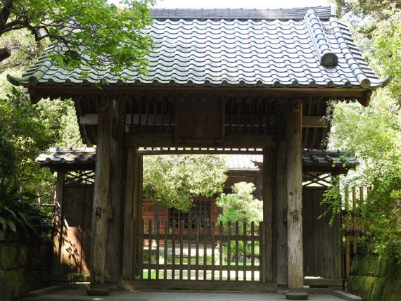 壽福寺中門