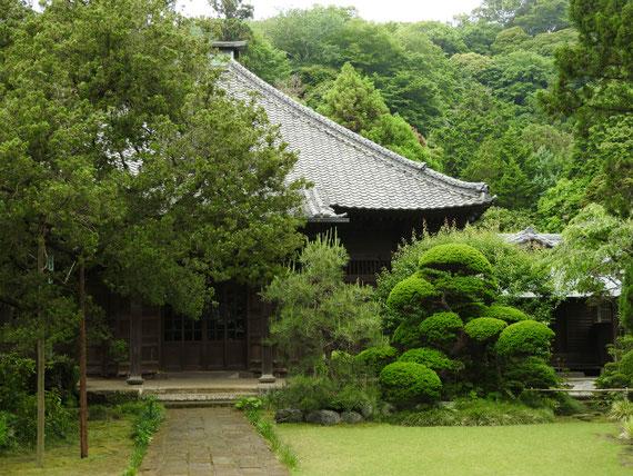 壽福寺 本堂 非公開です