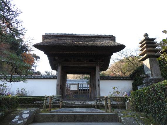 長寿禅寺 山門