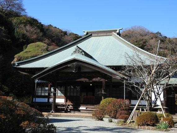 海蔵寺本堂(龍護殿)
