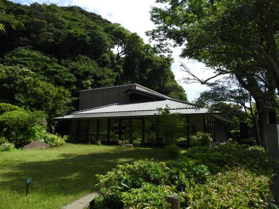 川喜多映画記念館、中庭