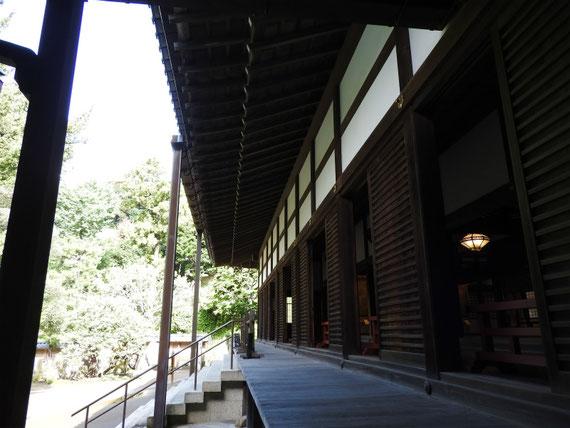 円覚寺方丈回廊 9月