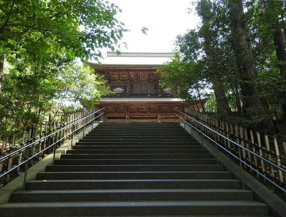 円覚寺山門 9月