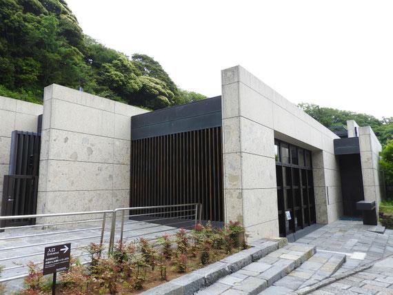 鎌倉歴史文化交流館 左からみる外観