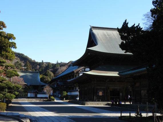 法堂と唐門・方丈(竜王殿)