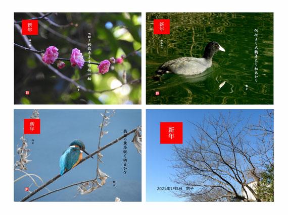 2021/01/10 新年の写句3句