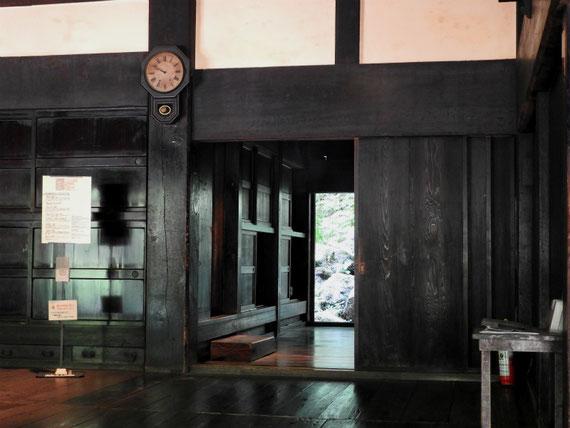 旧矢箆原家住宅 座敷内部