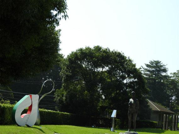 9月の屋外彫刻展示