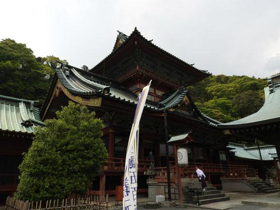 神部神社・浅間神社、大拝殿(重文)