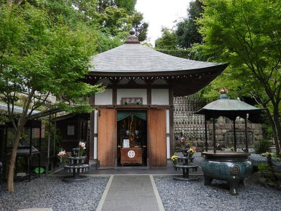 「福壽地蔵」を祀る地蔵堂