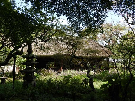 浄智寺方丈客殿 9月