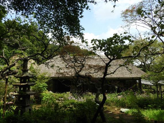 浄智寺 書院・客殿と前庭
