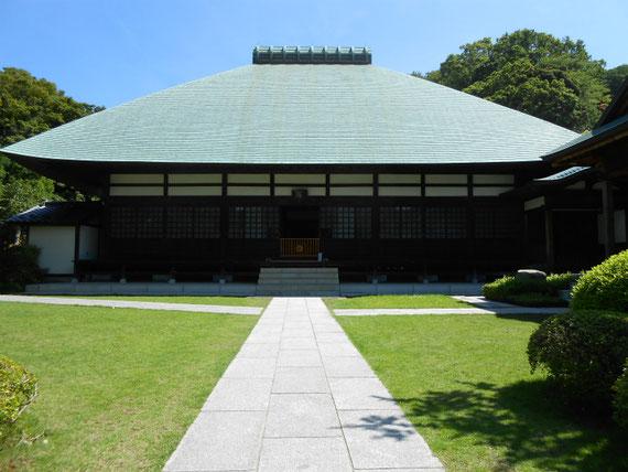 浄妙寺方丈本堂 7月
